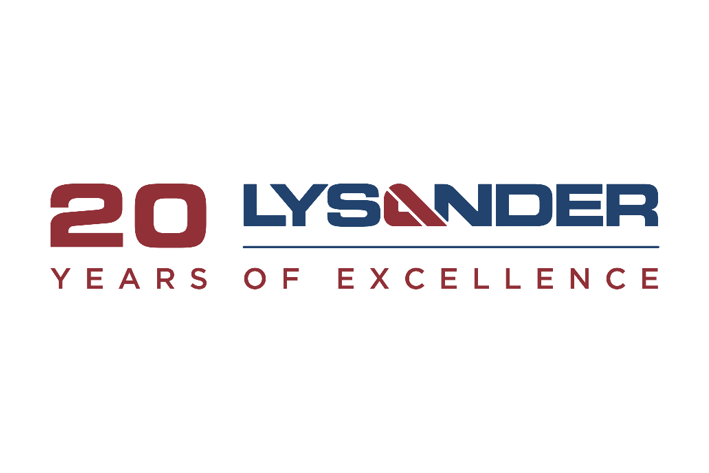 Lysander Celebrates 20 Years of Excellence.