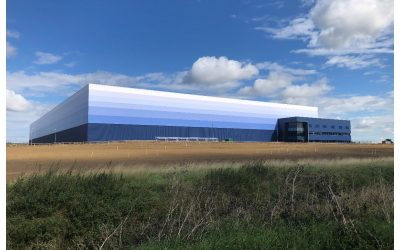 On Site Today at Magnitude, Magna Park.